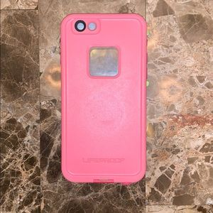 Pink IPhone 6s lifeproof Case